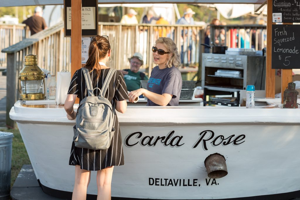 Urbanna Virginia is for Oyster Lovers Oyster Festival