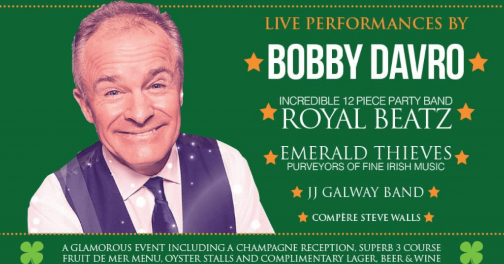 Comedy legend Bobby Davro is the main guest of the North East Oyster festival 2021.